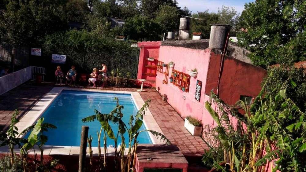 la90 - Cabaña para 2 a 8 personas con pileta y cochera en Agua De Oro