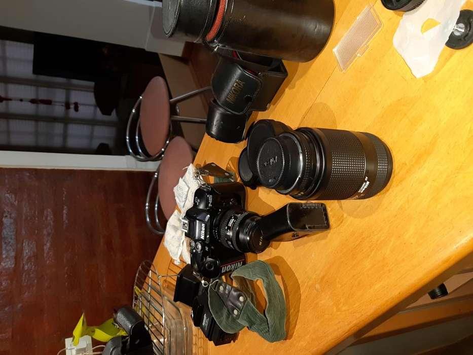 Cámara NIKON f 401X - Para fotografía con película