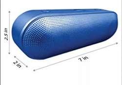 Parlante Bluetooth 2Boom Vortex Metallic traído de EEUU