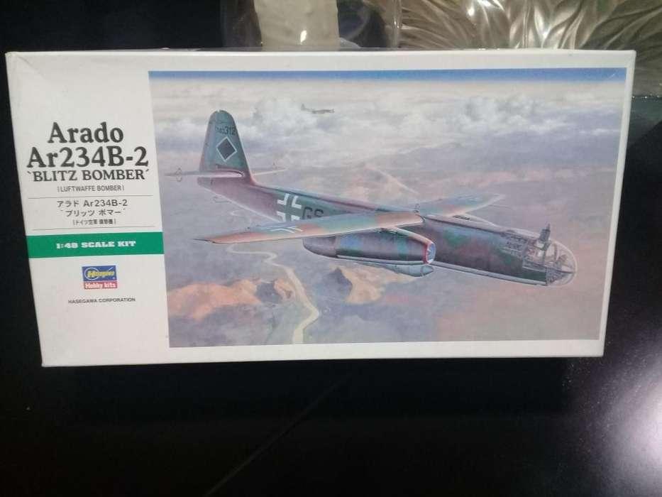 Avion ar 234 hasegawa escala 148