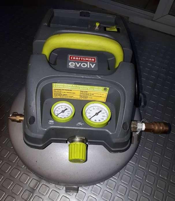 Compresor eVolv 15206 Craftsman 3 galones 100 PSI