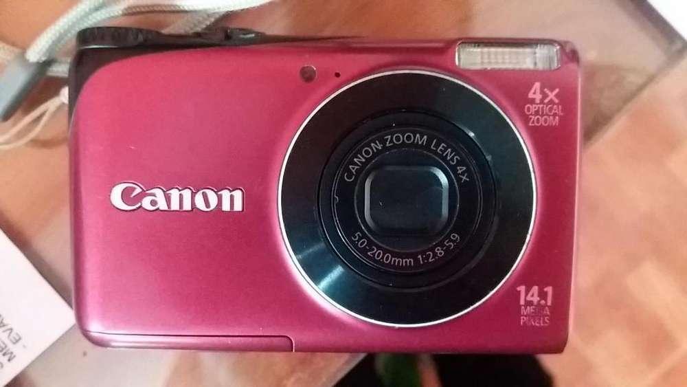 Camara Canon 14.1 MPX PowerShot A2200 HD