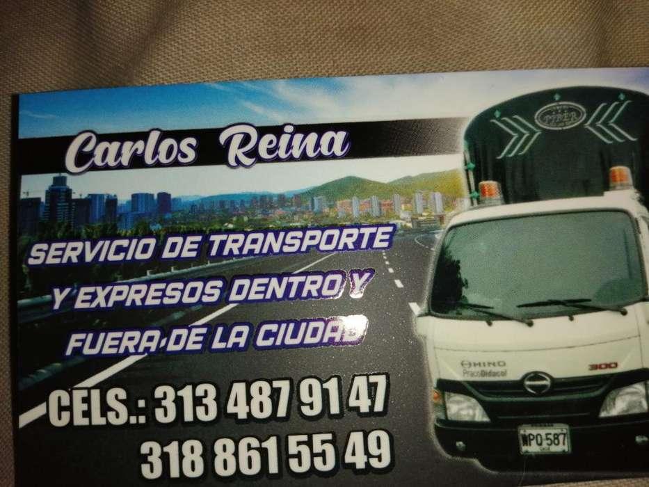 Servicio de Mudanzas Y Acarreo3134879147
