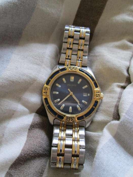 Reloj Pulsar By Seiko 570546, Bateria Nueva Traido de USA
