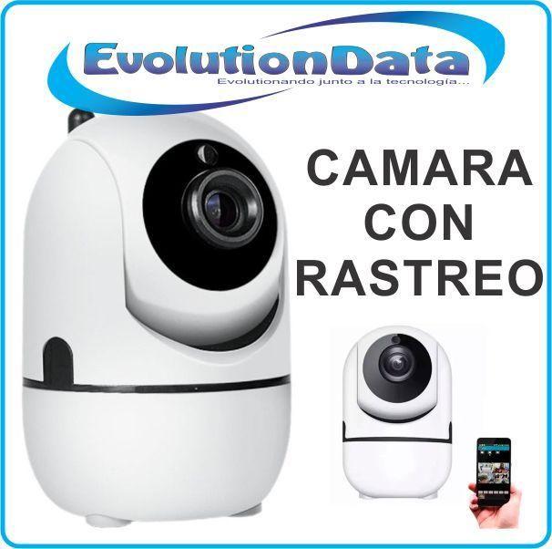 Camara Robotica IP Rastreo Automatico Tracker HD 720P Wifi Inalambrica