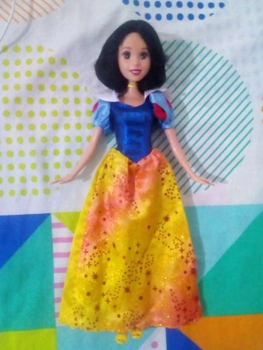 muñeca barbie princesa disney original blancanieves