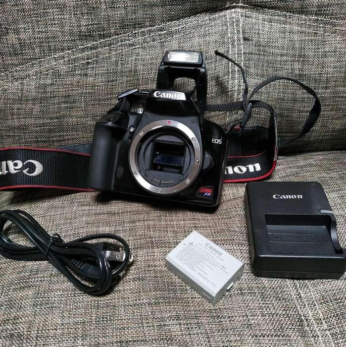Cuerpo Body Camara Canon Rebel XS 10mpx