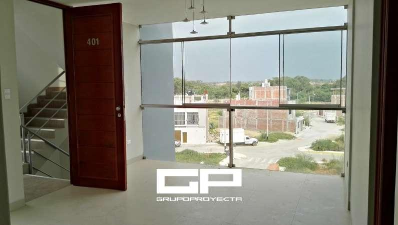 Departamento Flat en VENTA, 3 Dormit. Estacionamiento, Urb. Miraflores Country Club, Piura.