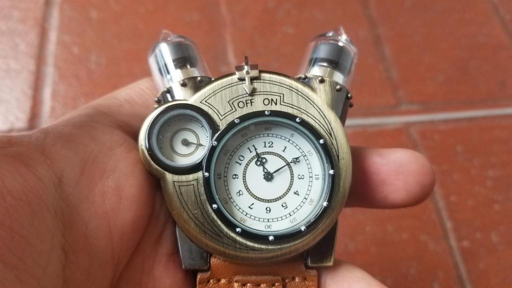 Medellín T513 Reloj Tesla Retro SteampunkNuevo uTlJ3c15FK