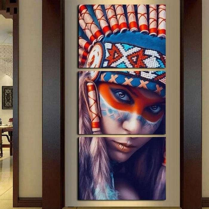 Cuadro en paneles ideal para tu hogar 9660
