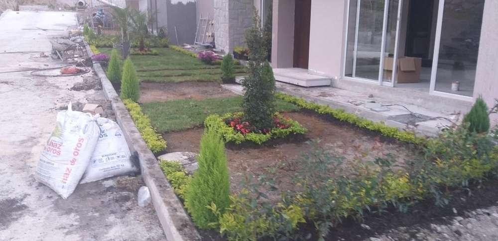 Construimos Jardines - Sembramos Cesped