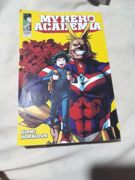 Mangas My Hero Academia Volumenes 1 Y 2