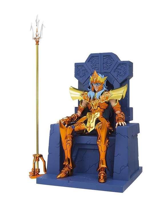 Caballeros Del Zodiaco Poseidon Ex Bandai Set Trono