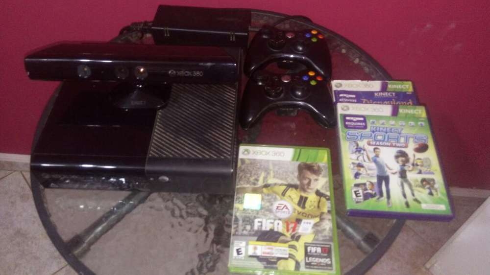 Vendo Xbox 360 Kinect