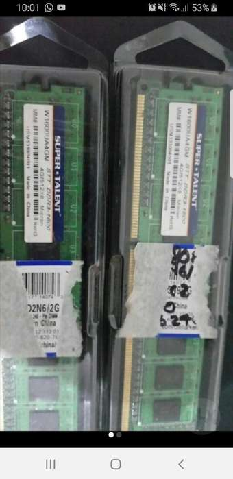 Ram Ddr3 8gb(2x4gb) 1600mhz