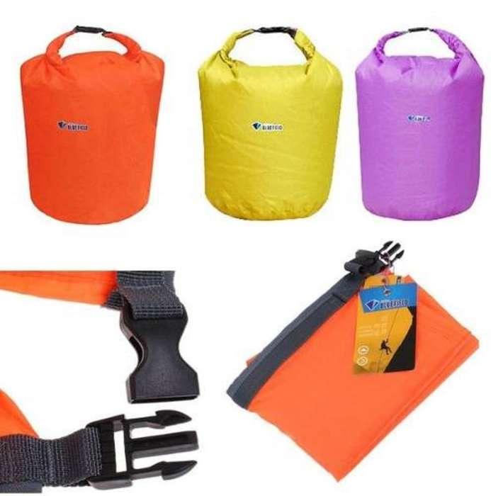 Bolsa Seca 20 Litros Camping Playa Impermeable Agua Viaje - CONTACTO 3193806347