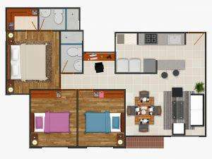 Apartamento Prosperidad Madrid 63.87 m2. Provenzal. 13 millones valorizacion