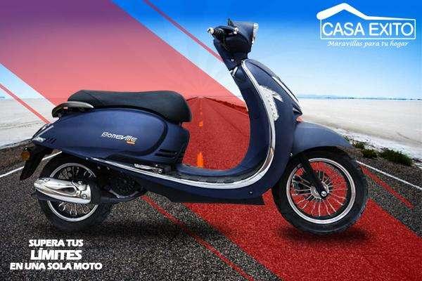 Daytona Boneville Dy150 Año 2018 150cc Negro / Azul Casa Éxito