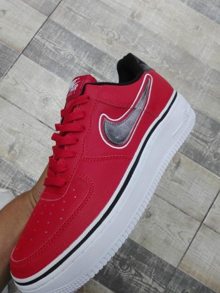 52ac04923cf4f Tenis Nike Air Force One Rojo - Bogotá