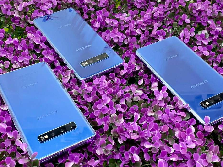 NO CAMBIOS Samsung Galaxy S10 Plus Prism Blue 128GB Usados 3 bandas (NO CLARO)