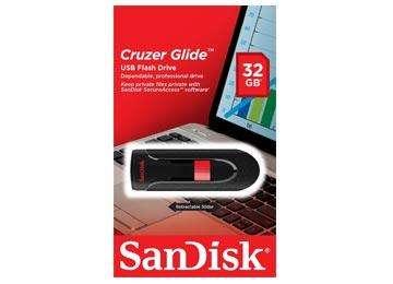 PENDRIVE 32GB SANDISK CRUZER GLIDE 3.0