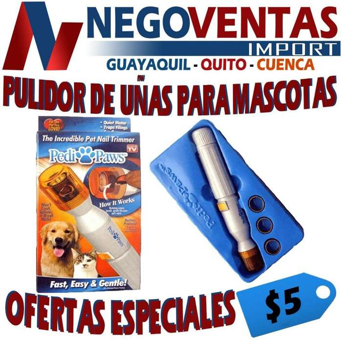 PULIDOR DE UÑAS PARA MASCOTAS OFERTA 5,00