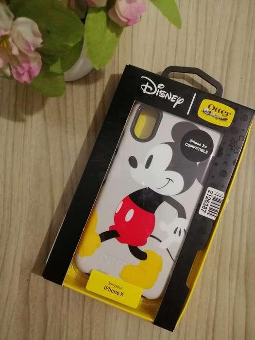 Hermoso Case de Mickey iPhone X