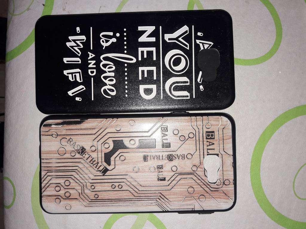 Fundas Samsung J7 Pack X 2