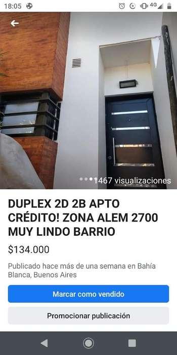 Duplex Alem 2700 Dos Dormitorios Aptocre
