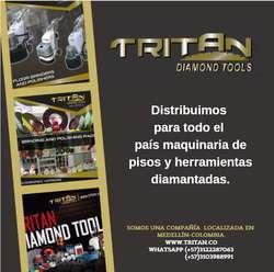 ¡ IMPORTANTE ! Herramientas Diamantadas en Colombia / maquinas de piso