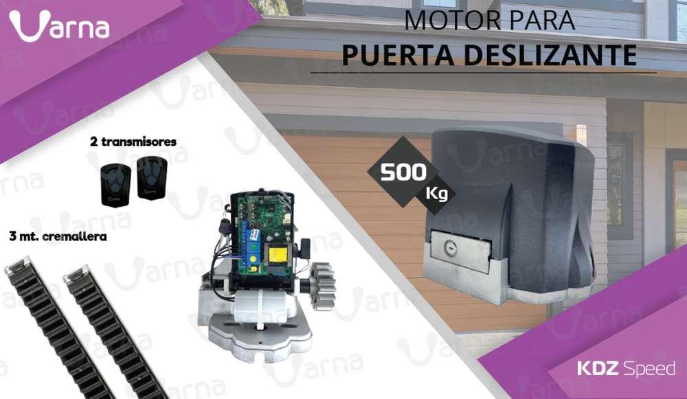 MOTOR para puerta de garage RESIDENCIAL corrediza