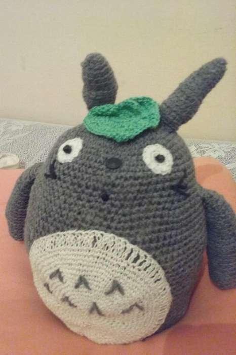 Totoro Amigurumi Muñeco tejido a crochet