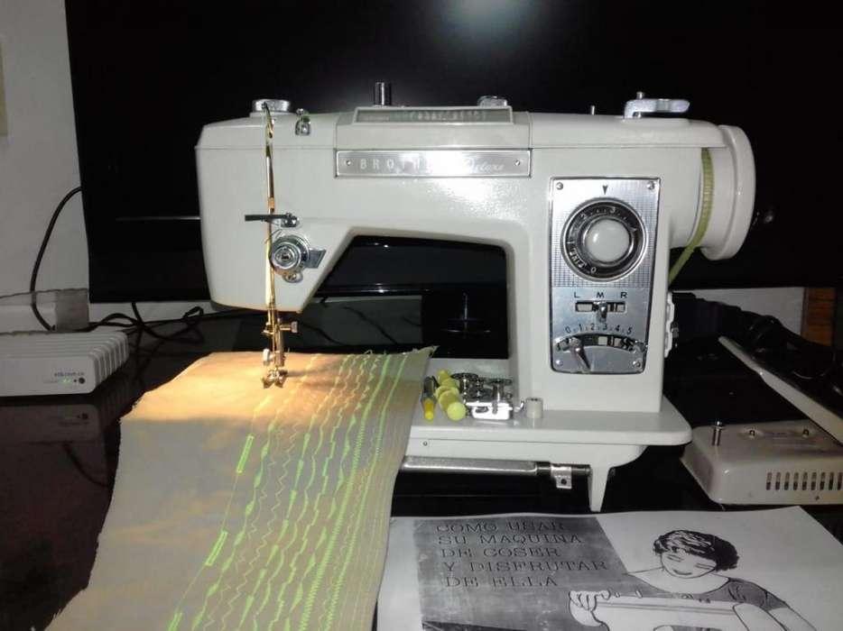 Maquina de coser BROTHER japonesa en excelente estado