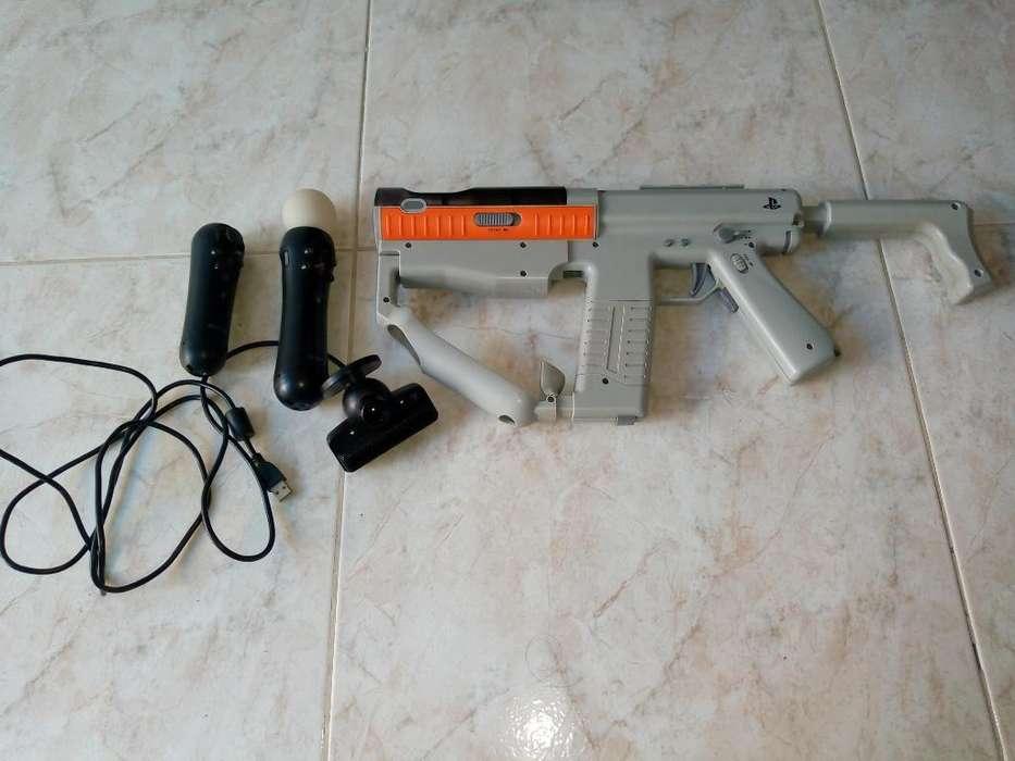 Pistola Completa Camara Y Controladores