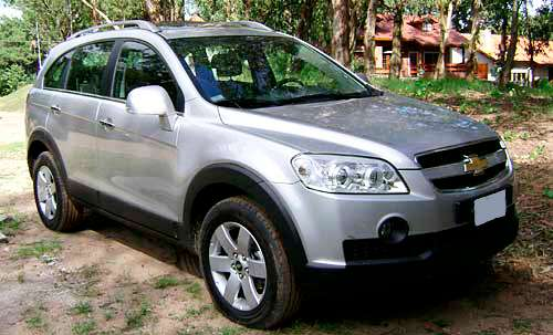 Chevrolet Captiva 2010 - 120000 km