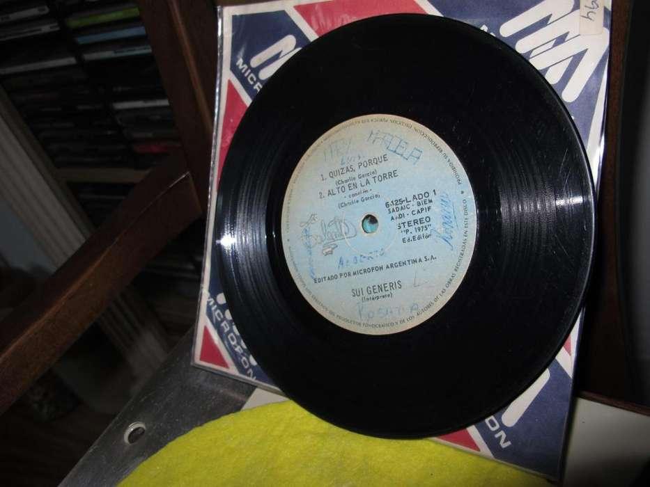 Sui Generis Vinyl ARG 7 pulgadas
