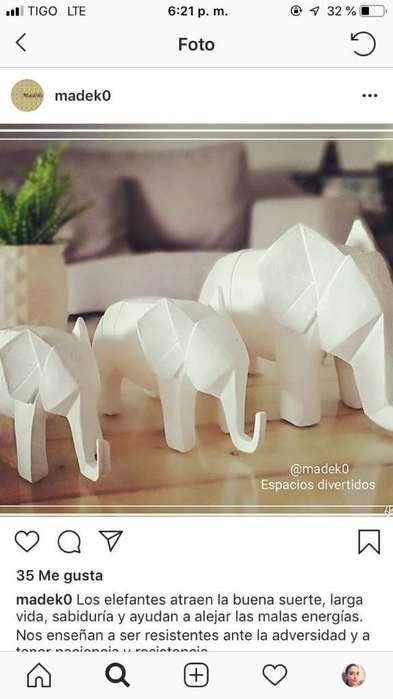 Elefantes Juego X 3