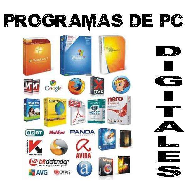 SOFTWARE DIGITAL PARA PC Y VIDEOJUEGOS