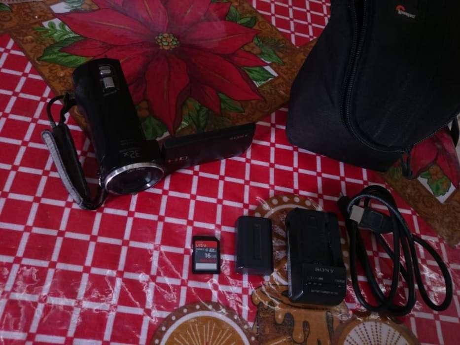 Videocámara Sony HD HDR-CX220