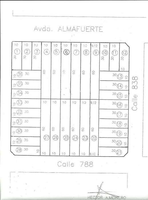 TERRENOS DE 300 Y 600 M2