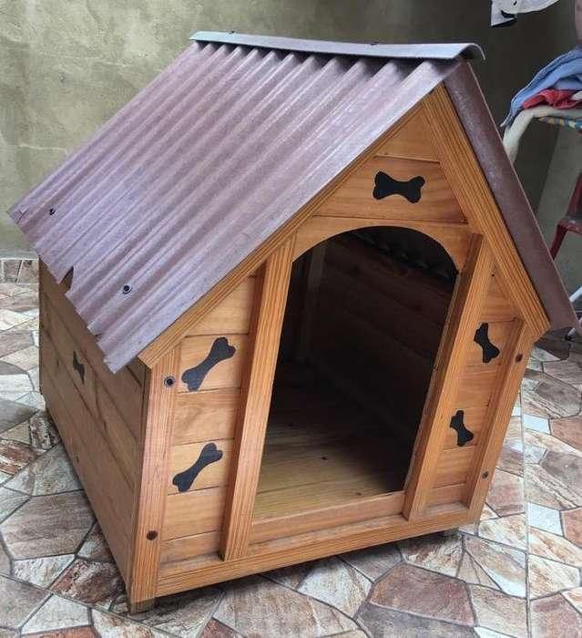Casa para Perro Mediano Med 70*80