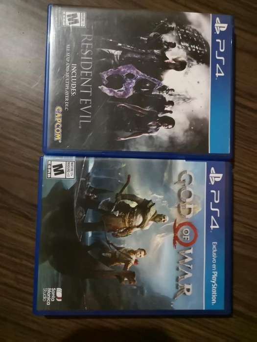 God Of War Iv Y Resident Evil 6