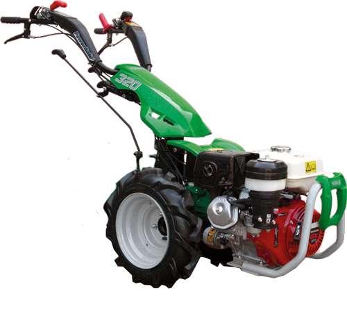 MOTOCULTOR ITALIANO DIESEL 10 HP MOTOR YANMAR