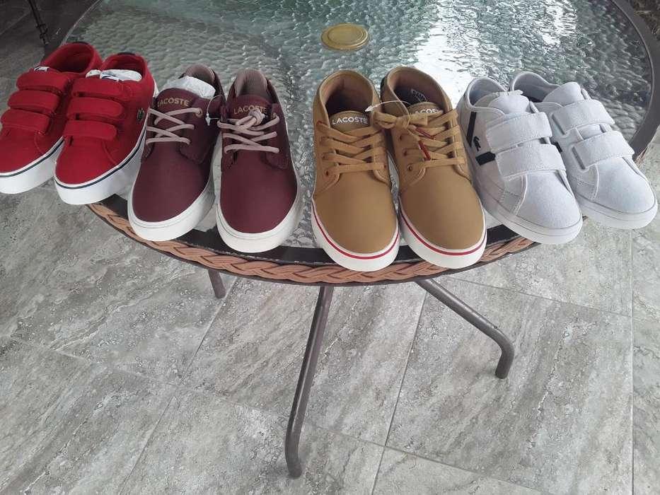 Zapatos Originales Lacoste Talla 32 O 13