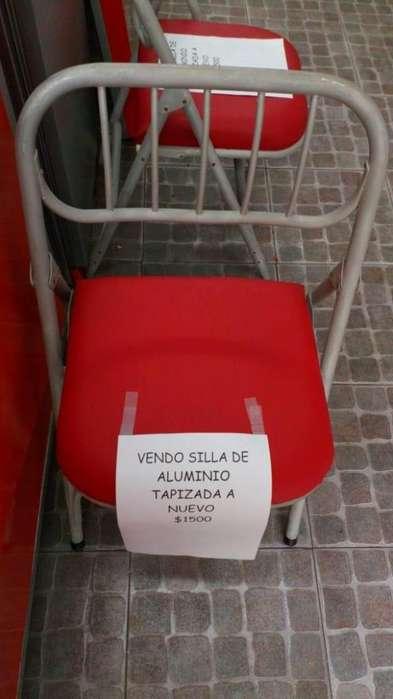 <strong>silla</strong> retapizada a nueva tengo dos 1500 cada una!!!