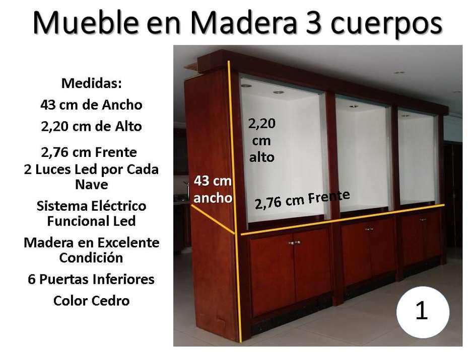 Vendo Montaje Completo en Madera para Almacen.