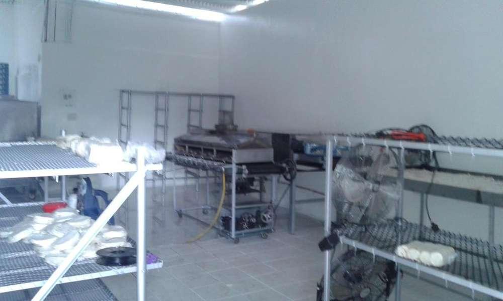 Vendo montaje para fabrica de arepas