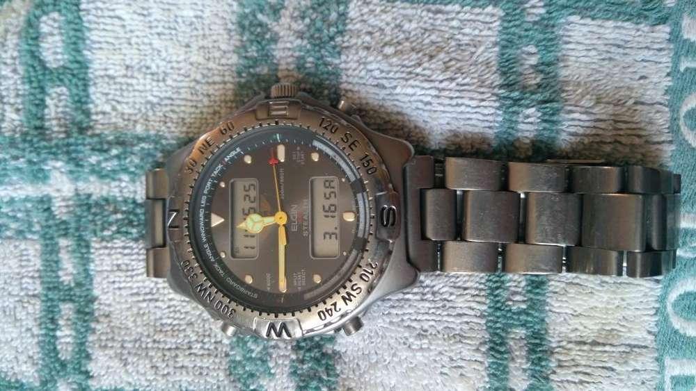 Reloj Elgin Usa Titaniun