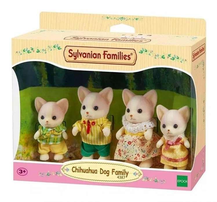 Sylvanian Families - Familia De Perros Chihuahua - 4387sy