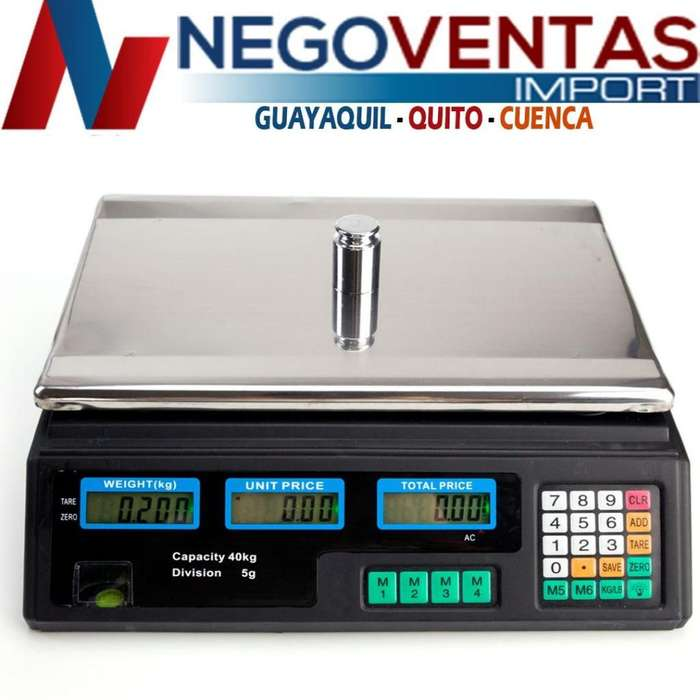 BALANAZA GRAMERA ELECTRONICA 35 KG MIDE EN KG, LB Y G
